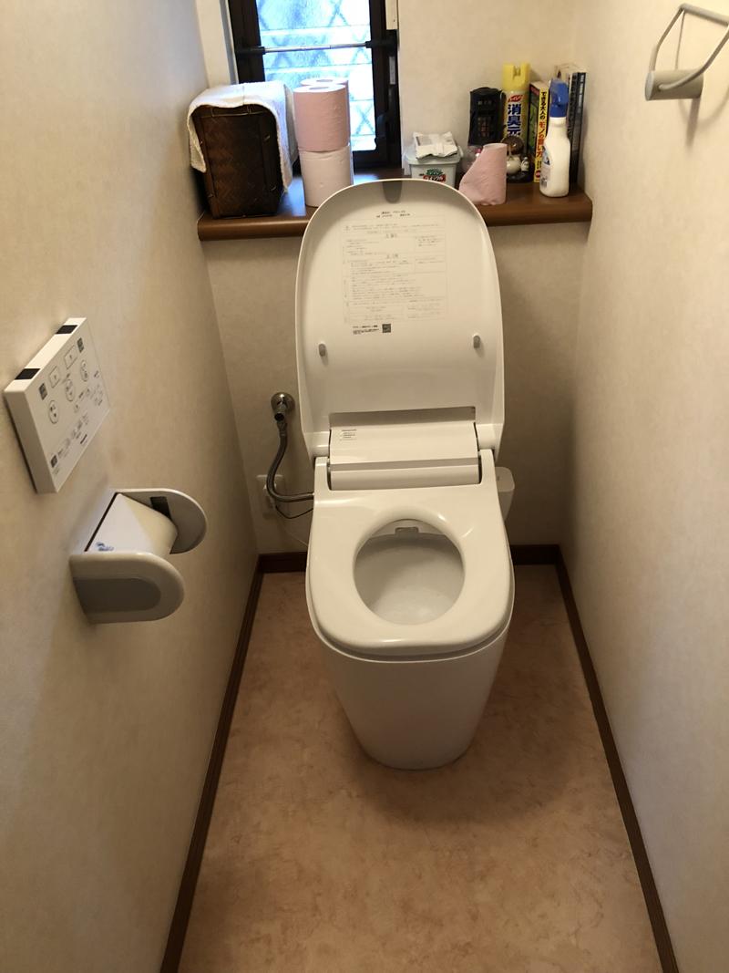 F様 トイレ交換