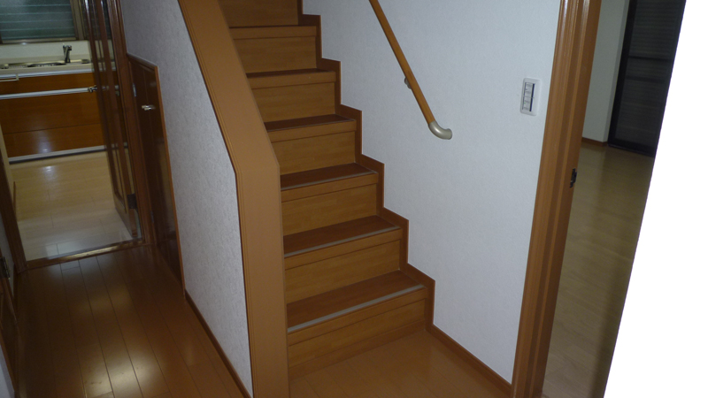 O様 リフォーム階段
